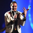 Arcade Fire at the BRIT Awards