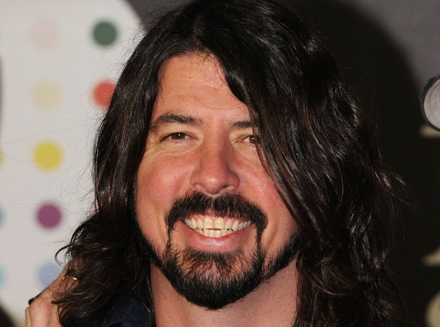 Dave Grohl at the BRIT Awards 2013