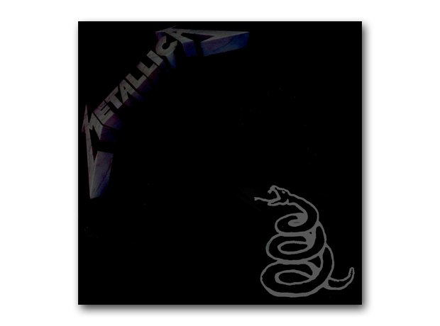 Metallica - Metallica album cover