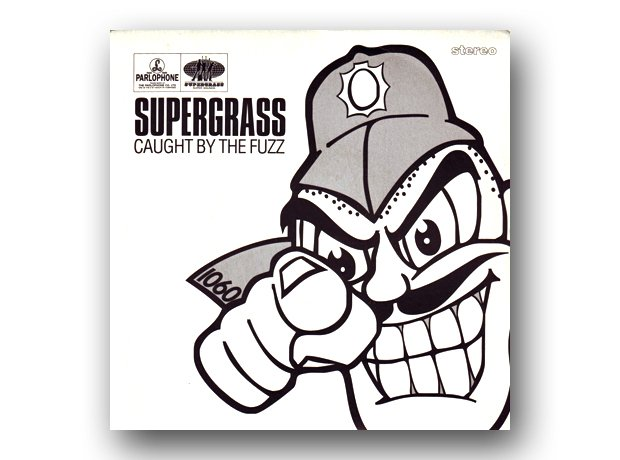 Supergrass - Caught By The Fuzz album cover