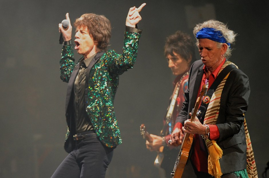The Rolling Stones - Glastonbury 2013