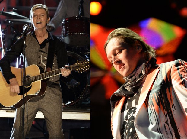 Arcade Fire and David Bowie