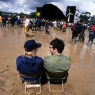 Glastonbury mud 1998