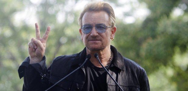 Bono on Ellis Island