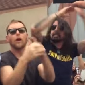Foo Fighters Rickroll