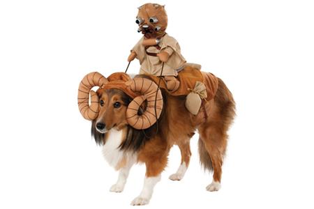 Bantha Dog Fancy Dress Costume
