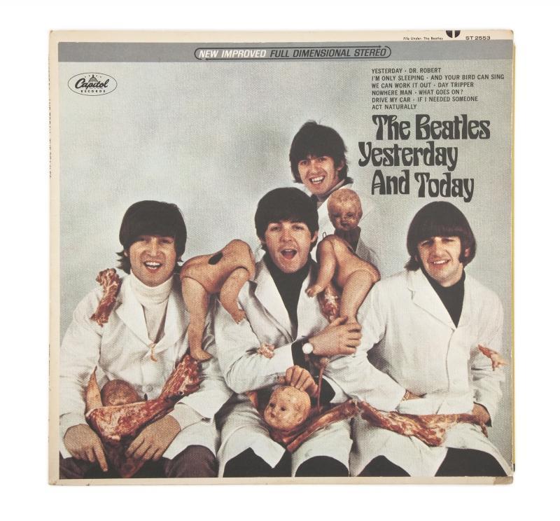 Beatles Butcher Cover
