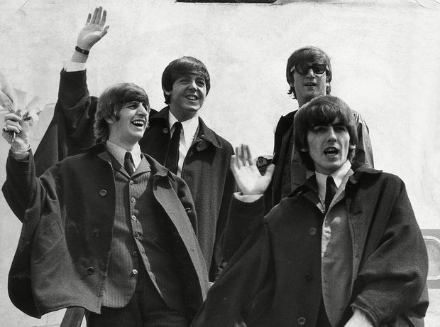 Rock Stars On Planes Planes The Beatles