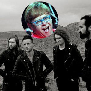 Elton John looms over The Killers