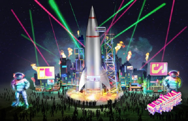 Bestival Spaceport 2016