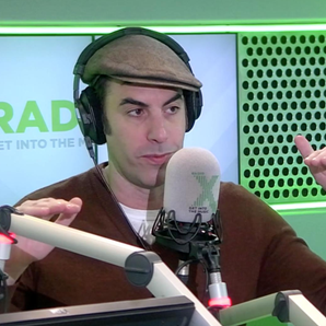 Sacha Baron-Cohen Chris Moyles Show