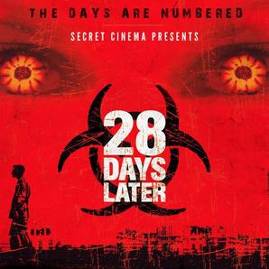 28 Days Later Secret cinema poster
