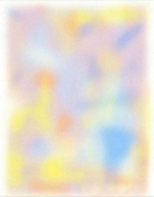 Multicolour picture optical illusion