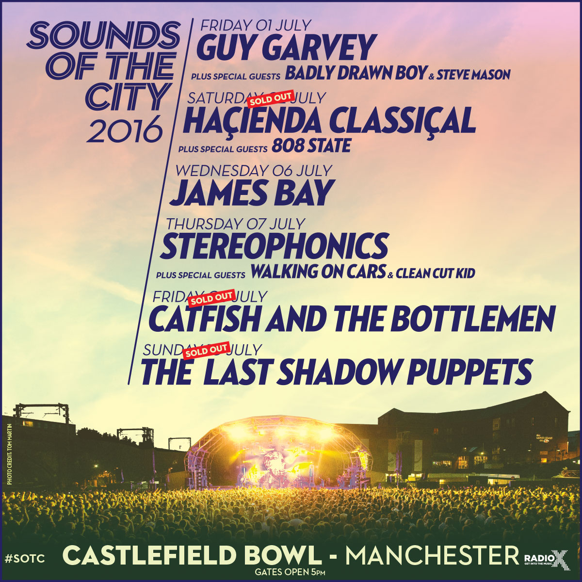 Sounds Of The City 2016 Line Up