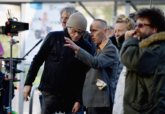 Trainspotting 2 filming image Ewen Bremmer Danny B
