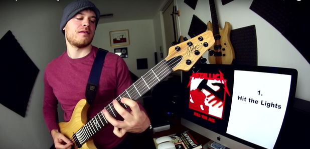 Man Plays Every Metallica Song in 4 Mins YouTube