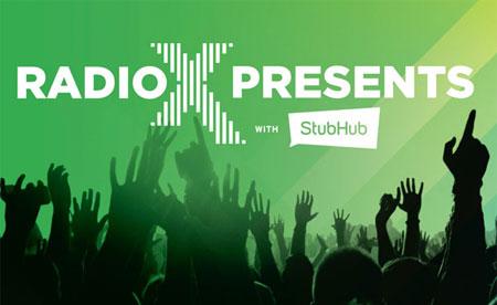 Radio X Presents StubHub image 450x276