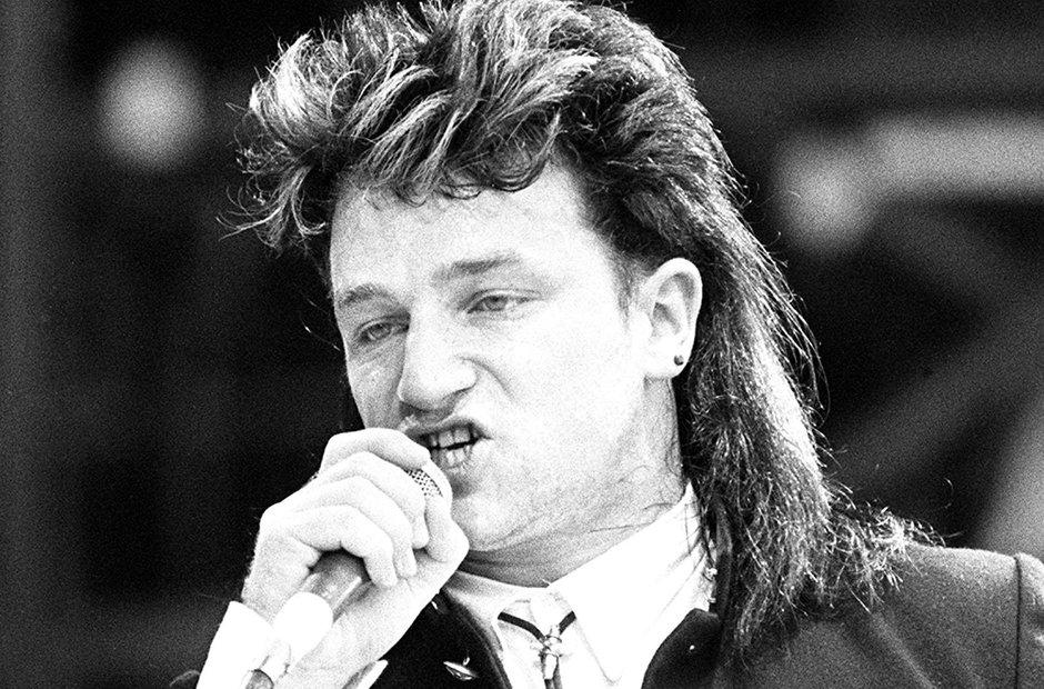 Bono at Live Aid
