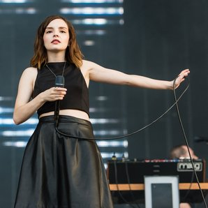 CHVRCHES at Latitude Festival 2016
