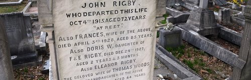 Eleanor Rigby gravestone Woolton Liverpool