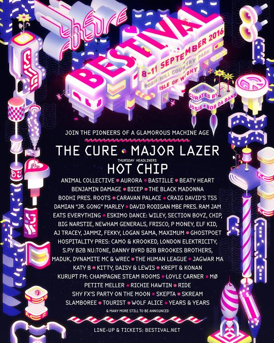 Bestival 2016 line-up