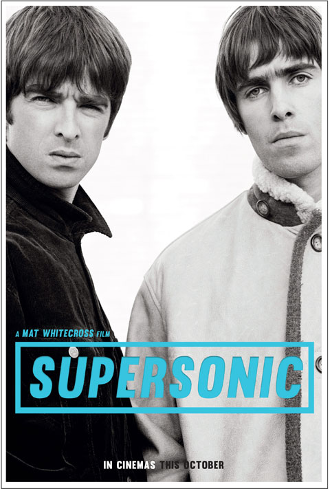 Supersonic poster oasis
