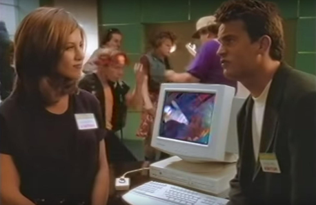 Jennifer Aniston Matthew Perry Windows 95 Guide