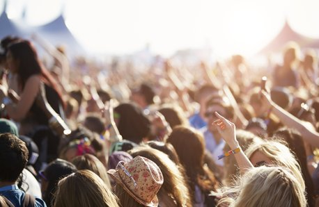 Summer Festival Crowd