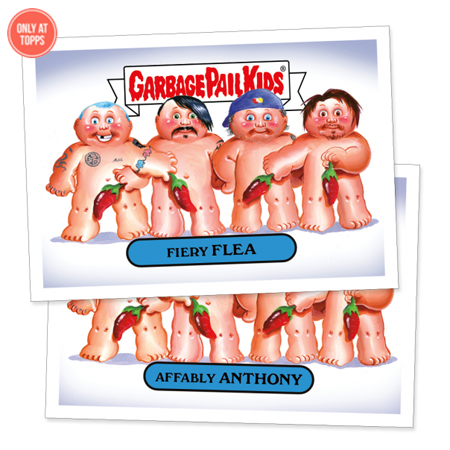 Music Garbage Pail Kids