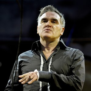 Morrissey performing in 2016