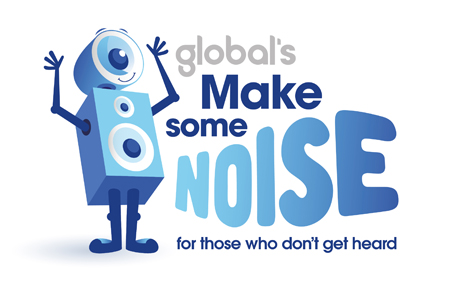 Global Make Some Noise 2016 logo