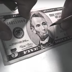 Bill Murray on 5 dollar bill YouTube still