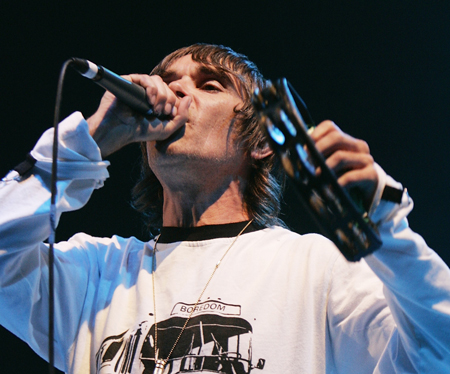 Ian Brown T in the Park 2008 450