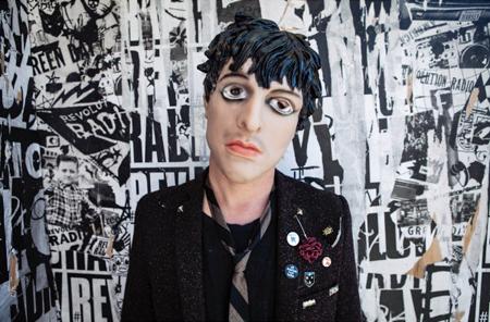 Green Day Billie Joe Armstrong Mask