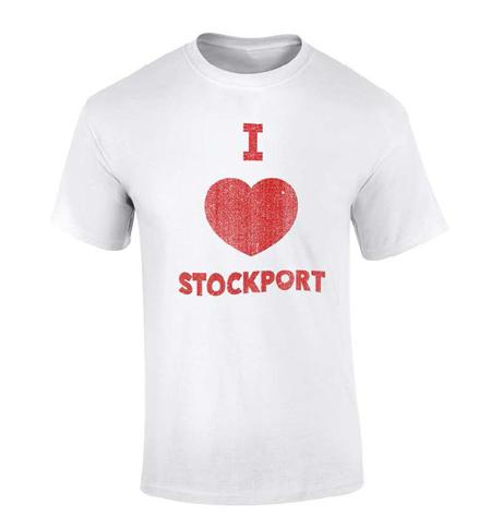 Blossoms I Heart Stockport T-Shirt