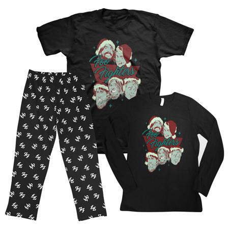 Foo Fighters Christmas Pyjamas