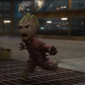Baby Groot Guardians Of The Galaxy video