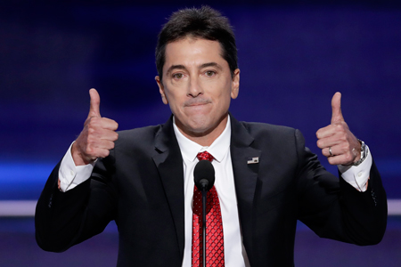 Scott Baio former Happy Days actor and Trump suppo