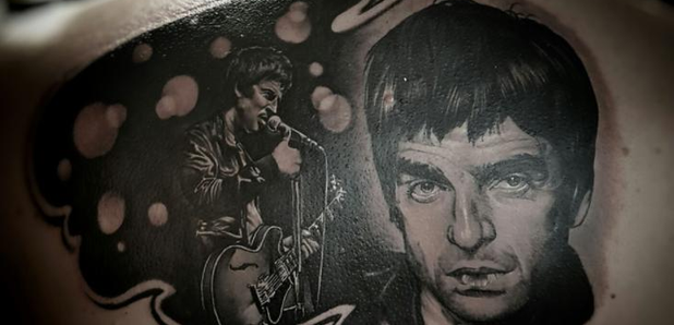 Noel Gallagher back tattoo Tattoo Fixers E4