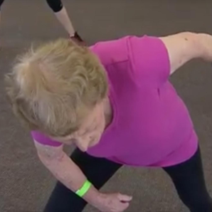 94-year-old gym junkie Edna Shepherd still