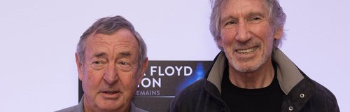 Nick Mason and Roger Waters Pink Floyd 16 February