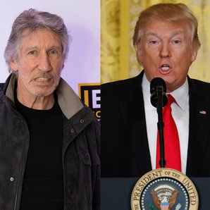 Roger Waters Pink Floyd Donald Trump 16 February 2