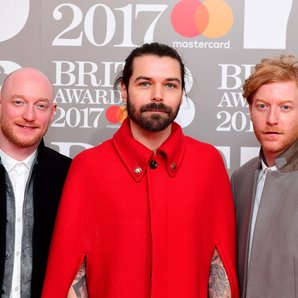 Biffy Clyro BRIT Awards 2017
