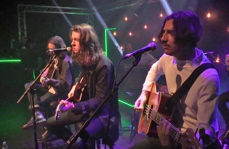 Blossoms live Chris Moyles Show 22 Feb 17