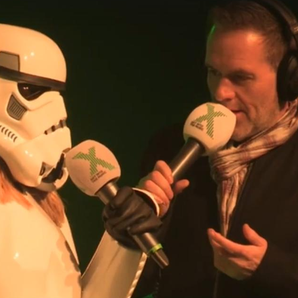 Chris Moyles Show Mystery Stormtrooper