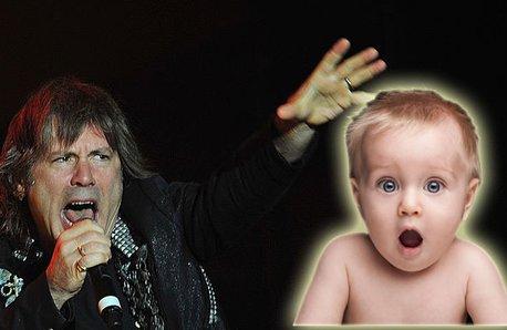Iron Maiden Bruce Dickinson and shocked istock bab