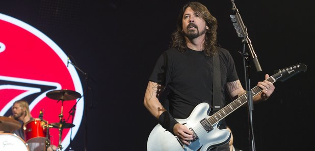Foo Fighters live 2014
