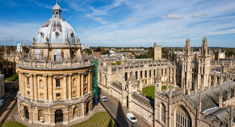 Oxford stock image least affordable place Britain