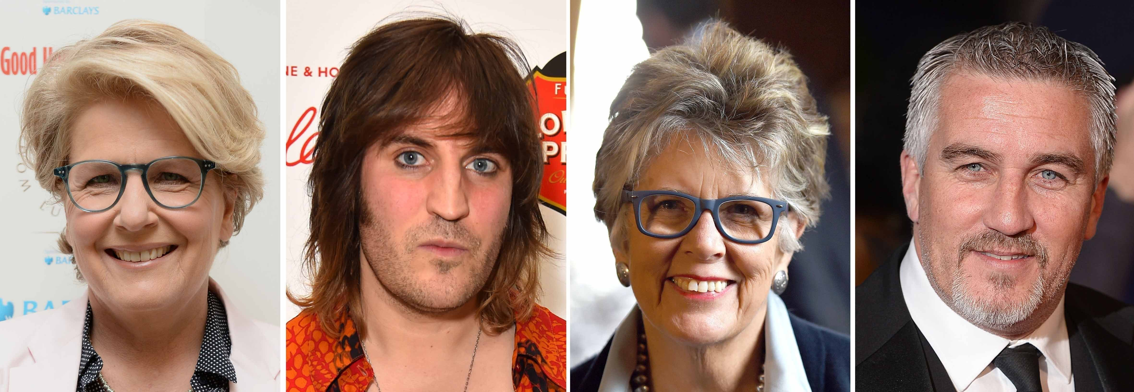 Great British Bake Off Line-Up Sandi Toksvig, Noel