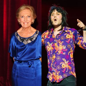 Mary Berry and Noel Fielding